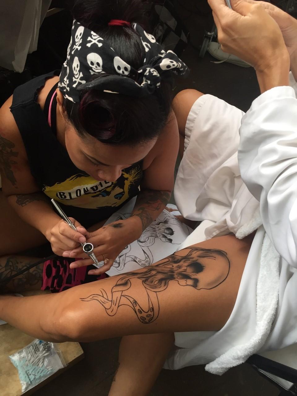 Modelos tatuadas (Foto: Reprodução)