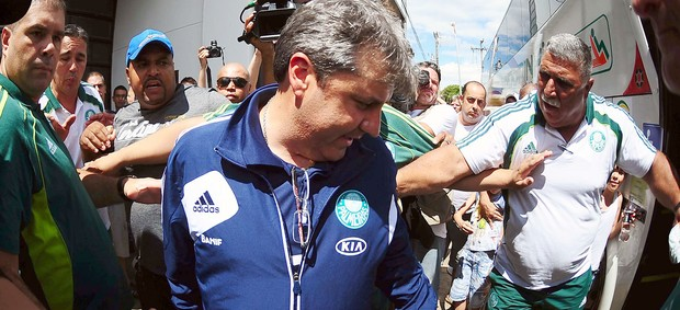 Desembarque Palmeiras presidente prudente (Foto: Marcos Ribolli / Globoesporte.com)