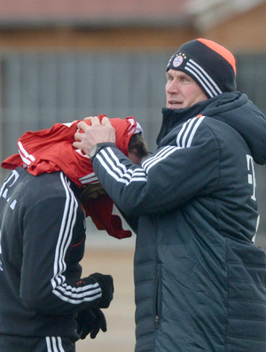 Jupp Heynckes Ribéry Bayern treino (Foto: EFE)