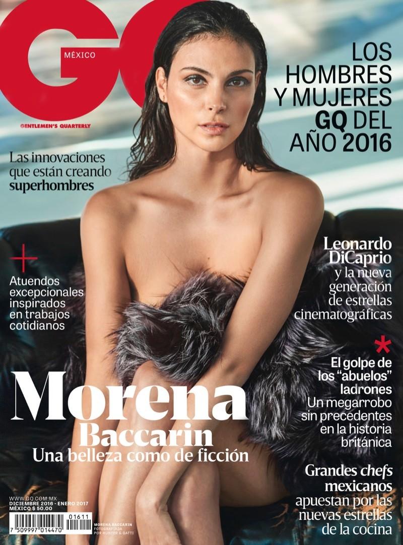 Morena Baccarin na GQ México de dezembro (Foto: GQ México/Hunter & Gatti )
