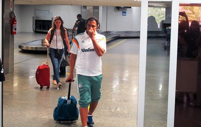 Desembarque Fluminense - Walter  (Foto: Richard Souza)