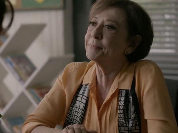 Teresa, personagem de Fernanda Montenegro: 'Ainda vamos mudar a sociedade' (Foto: TV Globo)