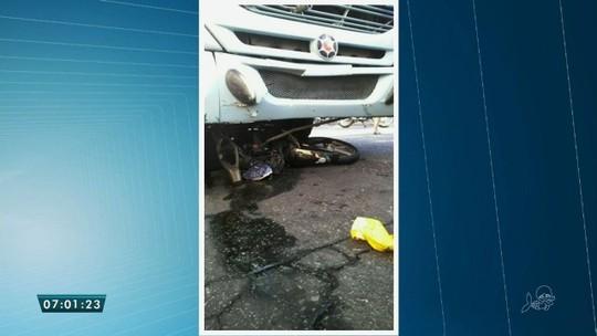 Motociclista avança preferencia e morre após colidir em ônibus