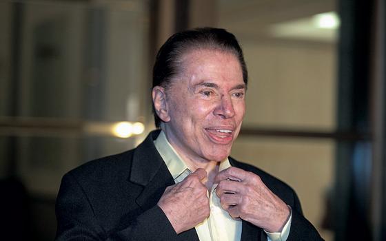 O empresário e apresentador de televisão, Silvio Santos (Foto: LEONARDO SOARES/ESTADÃO CONTEÚDO)