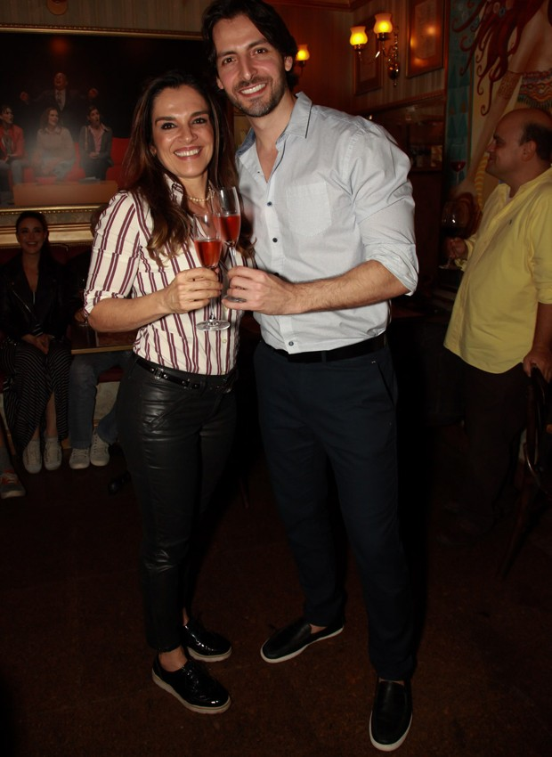 Mara Carvalho e  namorado, o ator Carlos Martin (Foto: Marcos Ribas/Brazil News)