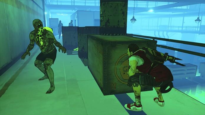 Muitas vezes você fica encurralado sem chance de sucesso em Escape Dead Island (Foto: GameSpot)