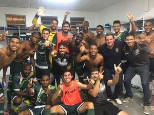 Luverdense vence Avaí e avança (Foto: Divulgação/Luverdense EC)