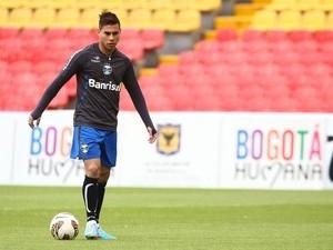 Vargas ainda não sabe qual será seu futuro (Foto: Lucas Uebel/Grêmio FBPA)