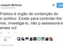 No Twitter, Barbosa diz MPF n�o �