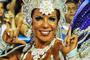 União da Ilha canta a beleza e vai de Cleópatra a whey protein (Alexandre Durão/G1)