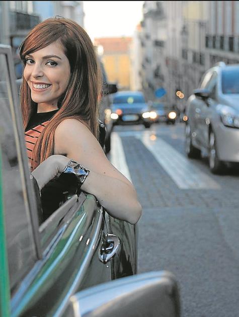 Titi Müller em Portugal (Foto: Pablo Escajedo/Divulgação )