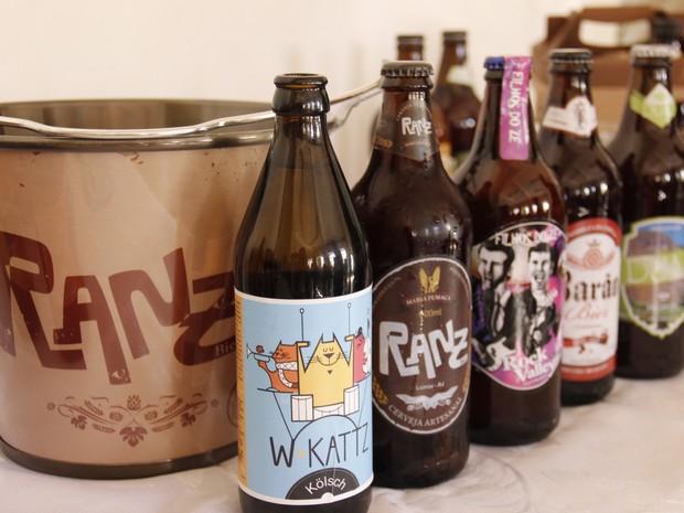 As cervejas artesanais atraem turistas para a cidade (Foto: Leonardo Vellozzo/Ascom Nova Friburgo)