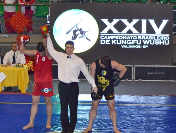 Aécio Dantas, do Rio Grande do Norte, campeão brasileiro de kung fu wushu (Foto: Divulgação)