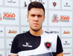 Danilo Galvão, atacante do Botafogo-PB (Foto: Divulgação)
