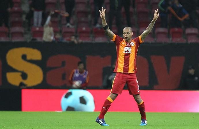 Felipe Melo, Galatasaray x Sivasspor (Foto: Reprodução / Facebook)
