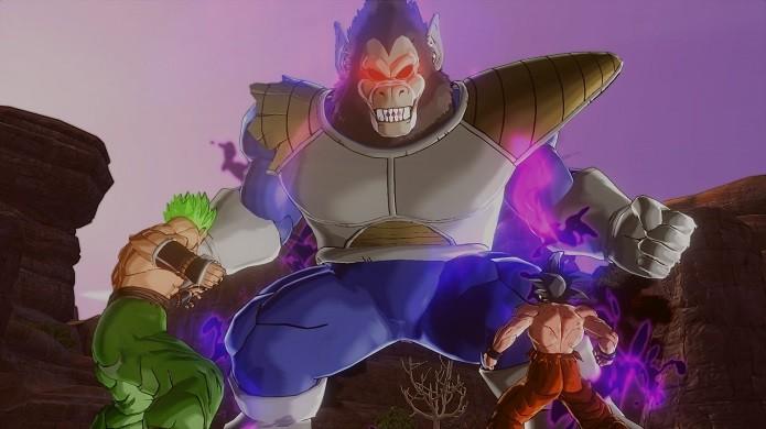 Xenoverse traz os principais heróis e vilões da série (Foto: Reprodução/Victor Teixeira)
