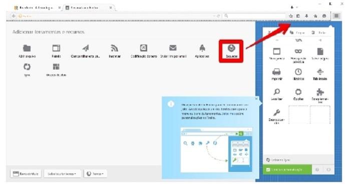 Adicionando o botão Esquecer à barra de ferramentas do Firefox (Foto: Felipe Alencar/TechTudo)