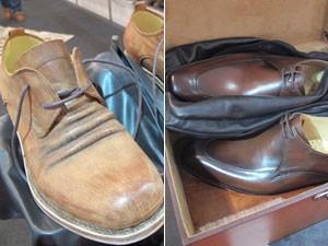 106083176 PME - Sapateiro desde os 11 anos fabrica calçados artesanais a R  1 ...