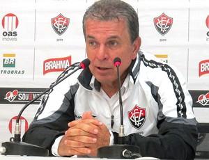 Técnico Ricardo Silva Vitória (Foto: André Casado / Globoesporte.com)