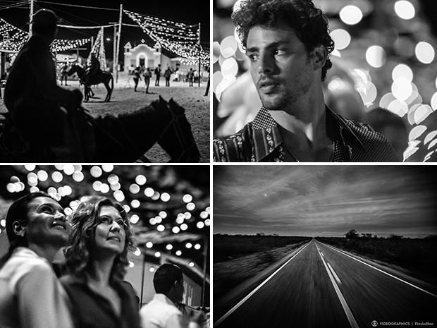 Cliques em preto e branco compõem a abertura de 'Amores' (Foto: Videographics / Flavio Mac)