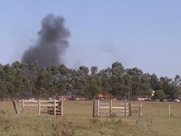 Produtores rurais e �ndios entram em confronto ap�s ocupa��o em MS (Foto: Reprodu��o/TV Morena)