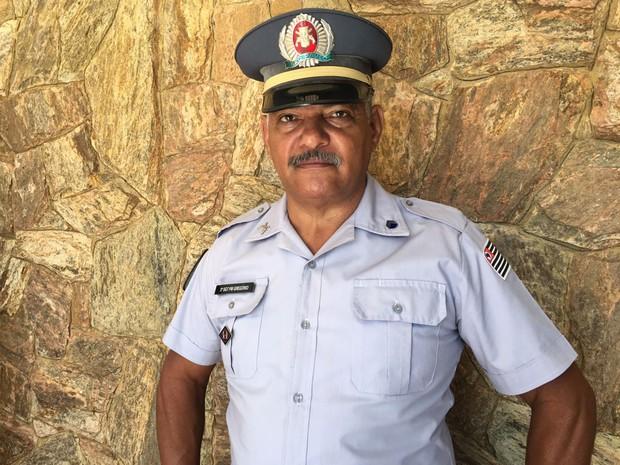 2º sargento aposentado Moacir Gregório atuou em Presidente Prudente (Foto: Stephanie Fonseca/G1)