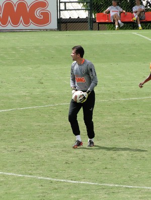 Goleiro Victor, do Atlético-MG (Foto: Valeska Silva / Globoesporte.com)