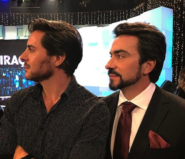 Ricardo Tozzi e Padre Fábio de Melo (Foto: Reprodução/Instagram)
