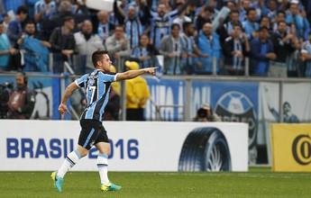 Ramiro diz que mirou o gol e espera reconquistar a torcida após golaço
