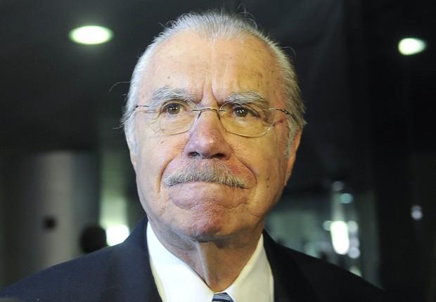 O senador José Sarney (PMDB-AP) (Foto: Antônio Cruz/Agência Brasil)