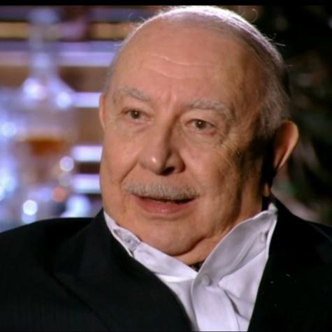 Sergio Mamberti em cena como Dionísio (Foto: Reprodução)