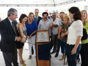 """CEI-16 leva o nome da """"Profª Beatriz de Moraes Leite Fogaça"""" (Foto: Emerson Ferraz)"""