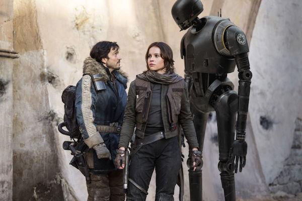 Os protagonistas de 'Rogue One: Uma História Star Wars' (Foto: Reprodução)