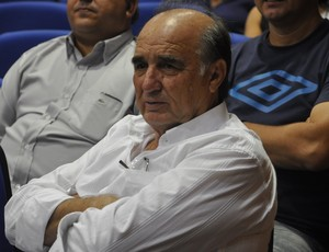 Hélio Machado presidente do Mixto (Foto: Robson Boamorte/GLOBOESPORTE.COM)