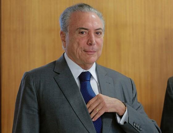 O presidente Michel Temer (Foto:   DIDA SAMPAIO/ESTADÃO CONTEÚDO)