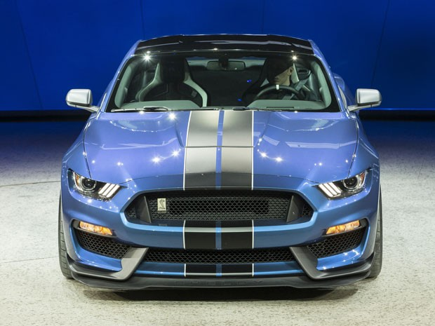 Ford Mustang Shelby GT 350 R (Foto: AFP PHOTO/GEOFF ROBINS)