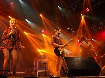 Banda Eddie (Foto: Manoel Filho / G1)