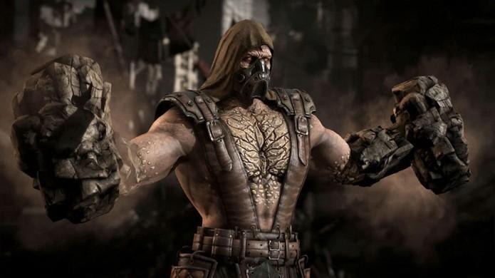 Tremor de Mortal Kombat X transforma suas mãos em marreta em seu Fatality (Foto: Reprodução/Event Hubs)
