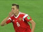 Vencendo o Egito de 3 a 1, Rússia se aproxima das oitavas de final