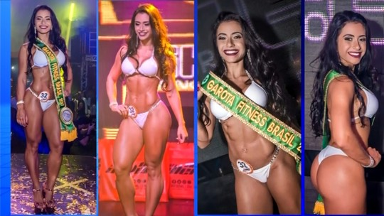 'Sentia vergonha do meu corpo', lembra estudante eleita Garota Fitness Brasil 2017