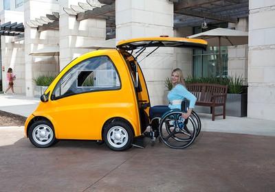 O veículo chega a 40km/h e é vendido apenas nos EUA por US$ 25mil (Foto: Divulgação)
