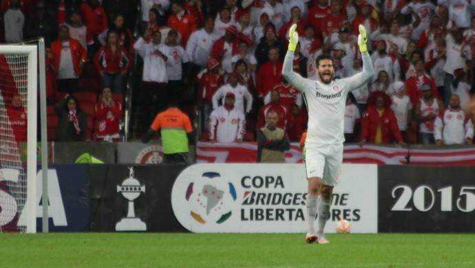 Internacional x Tigres Libertadores Beira-Rio Inter Alisson (Foto: Diego Guichard/GloboEsporte.com)