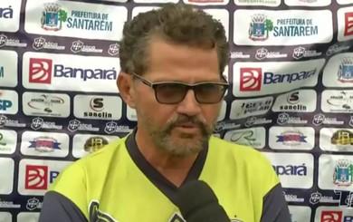 Walter Lima acha que tempo até proximo jogo do Leão é pouco, mas não deixa de ser importante (Foto: TV Tapajós/Reprodução)