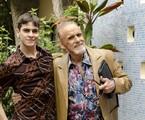 Victor Lamoglia e Francisco Cuoco gravam 'A grande família' | Ellen Soares/TV Globo