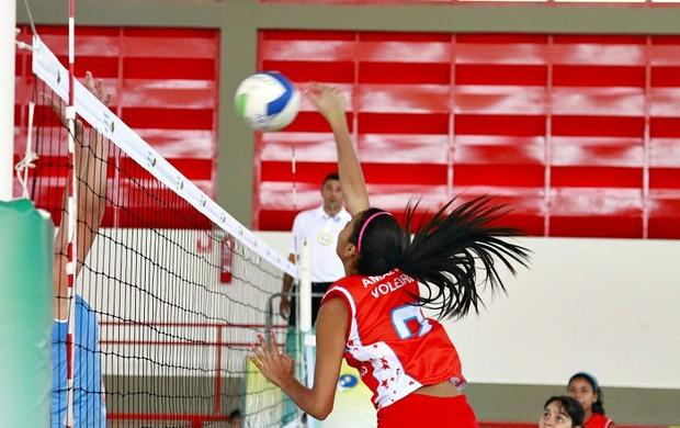 Seleção Amazonense Infanto Juvenil Feminina de Vôlei (Foto: Fernando Elias/CBV)