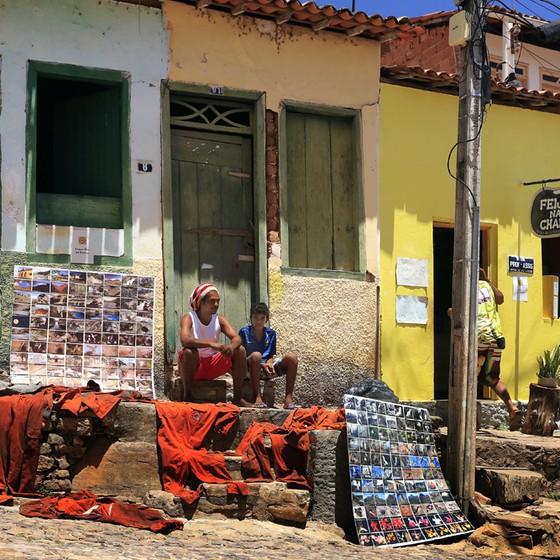 Janio Souza Rocha (o Feijão), que fundou uma brigada voluntária em Lençóis,Bahia (Foto: Rui Rezende/Decorarcomfoto/ÉPOCA)