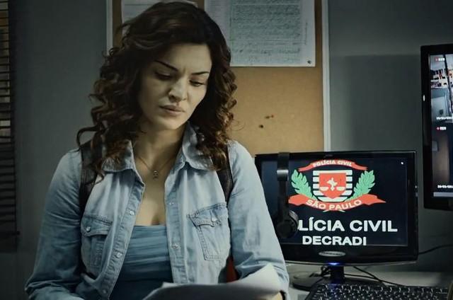 Mayana Neiva em 'Rotas do ódio' (Foto: Reprodução)