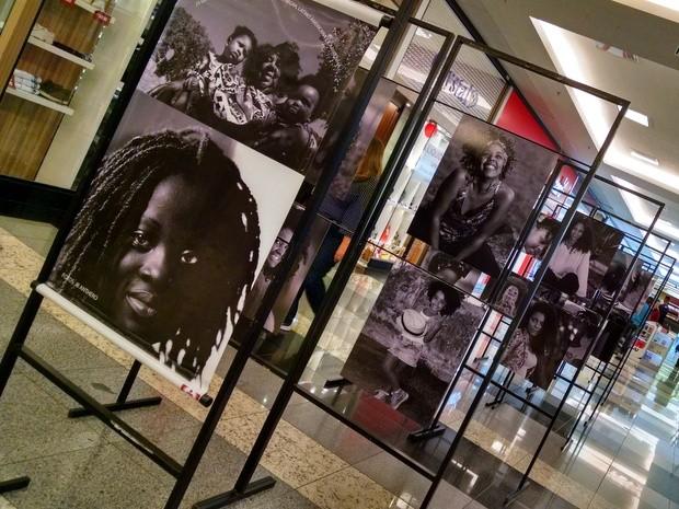 """Shopping de Limeira recebe exposição fotográfica """"Pretas em Preto e Branco""""  (Foto: Divulgação)"""
