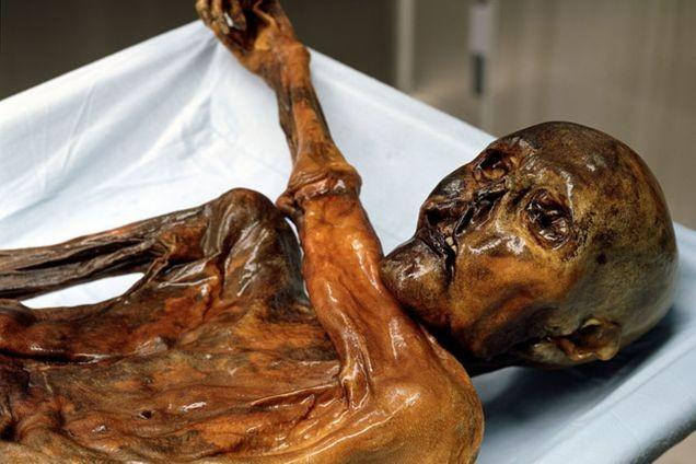 Ötzi, o Homem de Gelo (Foto: Divulgação)
