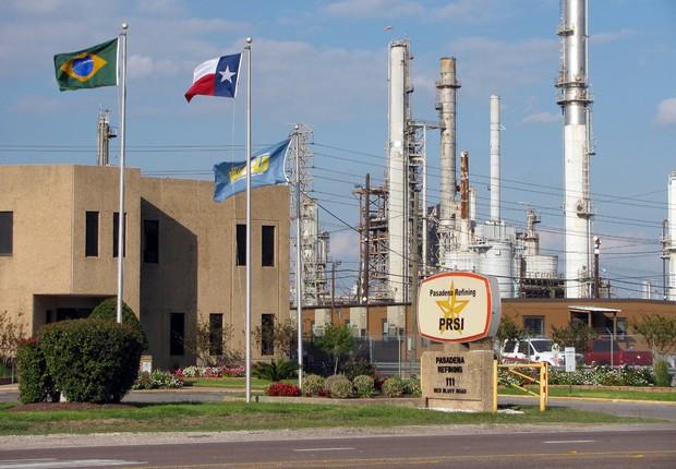 Refinaria de Pasadena, no Texas, comprada pela Petrobras (Foto: Wikimedia Commons/Wikipedia)